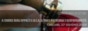 Convegno codice appalti 27/06/2008
