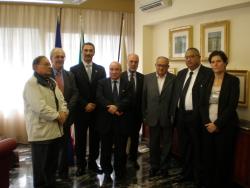 Incontro con delegazione giordana
