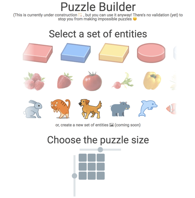 The builder puzzle
