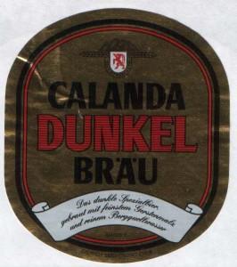 Calanda Dunkel Brau
