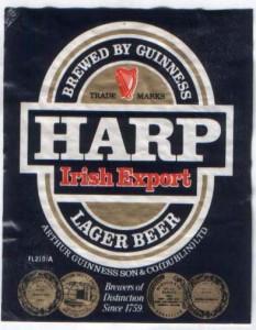 Harp Irish Export