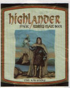 Highlander Finest Whisky Malt Beer