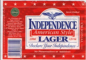Independence American Style Lager