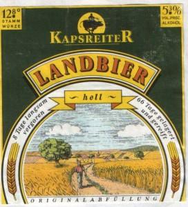 Kapsreiter Landbier Hell