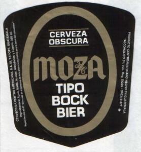 Moza Obscura Tipo Bock Bier