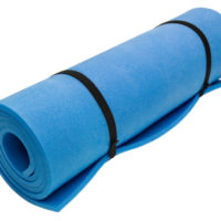 Rolled up mat