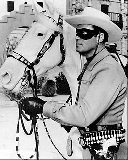 The Lone Ranger and his horse Silver