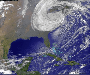 Sandy NASA image