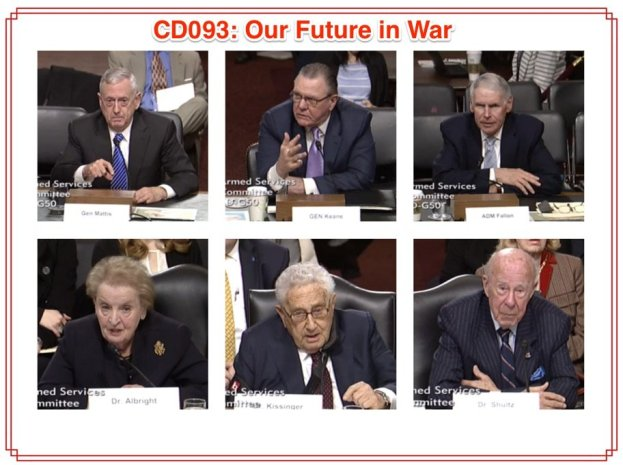 CD093 Our Future in War