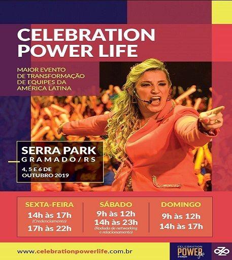 Celebration Power Life evento gramado