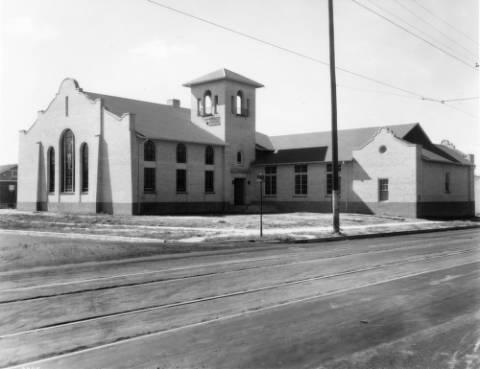 Church at 6th Ave and Adams