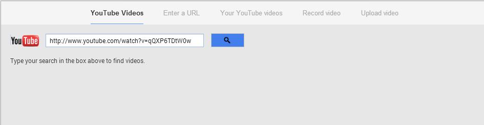 Google Plus video sharing options