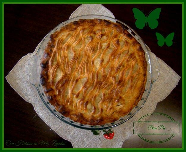 Mi versión con Pera del Apple Pie