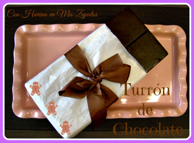 Turrón de Chocolate y Nueces