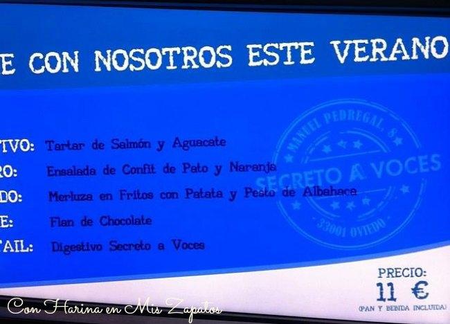 Hoy comemos en Secreto A Voces, en Oviedo