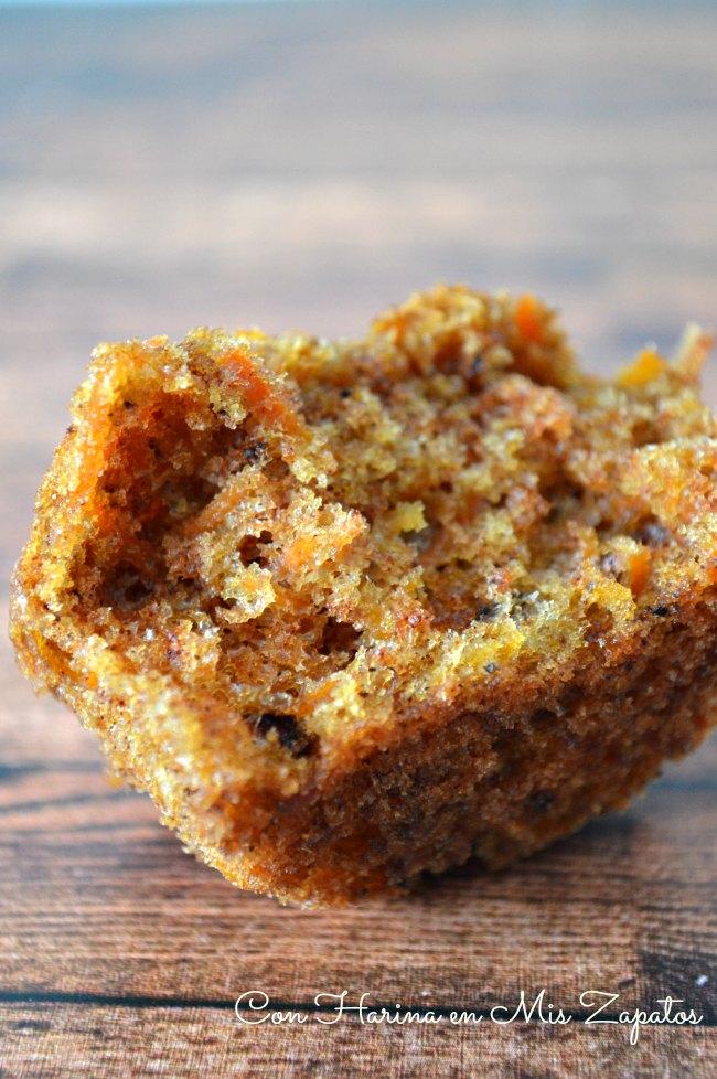 Muffins de Zanahoria y Orejones