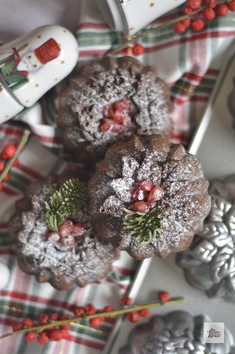 Brownie de Mazapán y Feliz Navidad