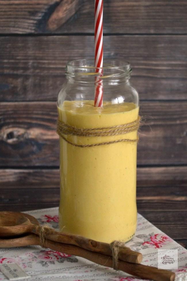Lassi de Mango | CON HARINA EN MIS ZAPATOS