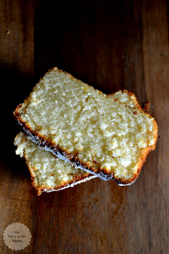 Loaf-Cake de Limón y Limoncello