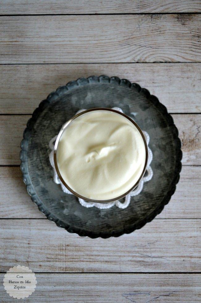 Crema de Mascarpone y Lemon Curd