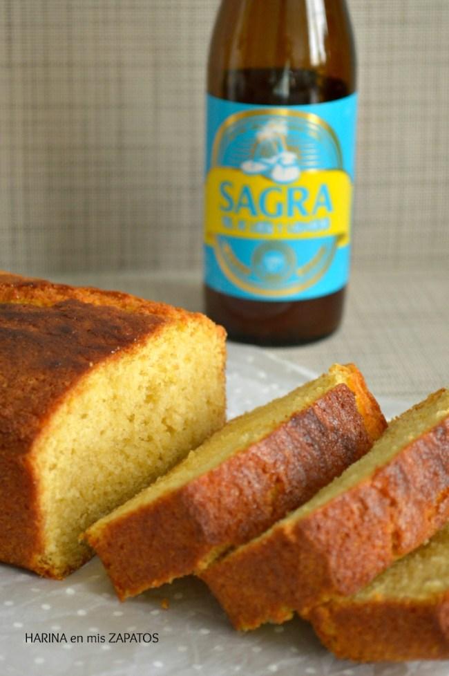 Bizcocho de Cerveza de Limón y Cardamomo