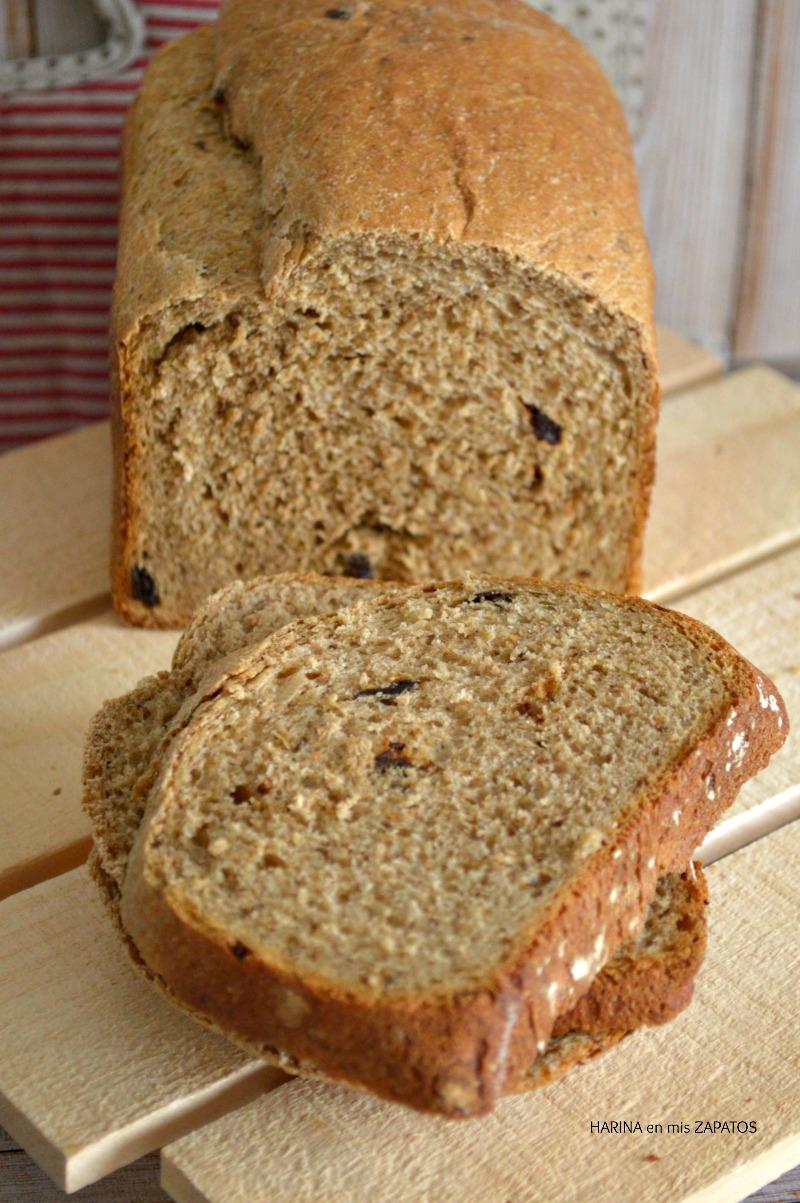 Pan de Ciruelas Pasas