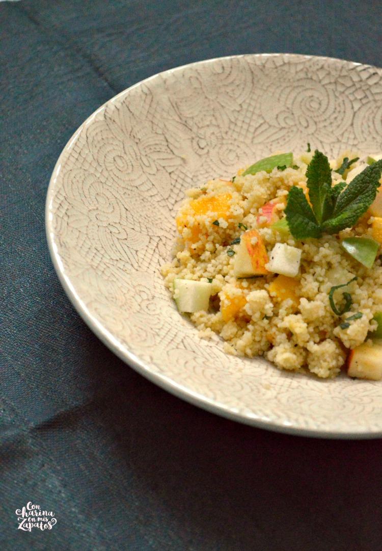 Ensalada de Couscous y Manzana