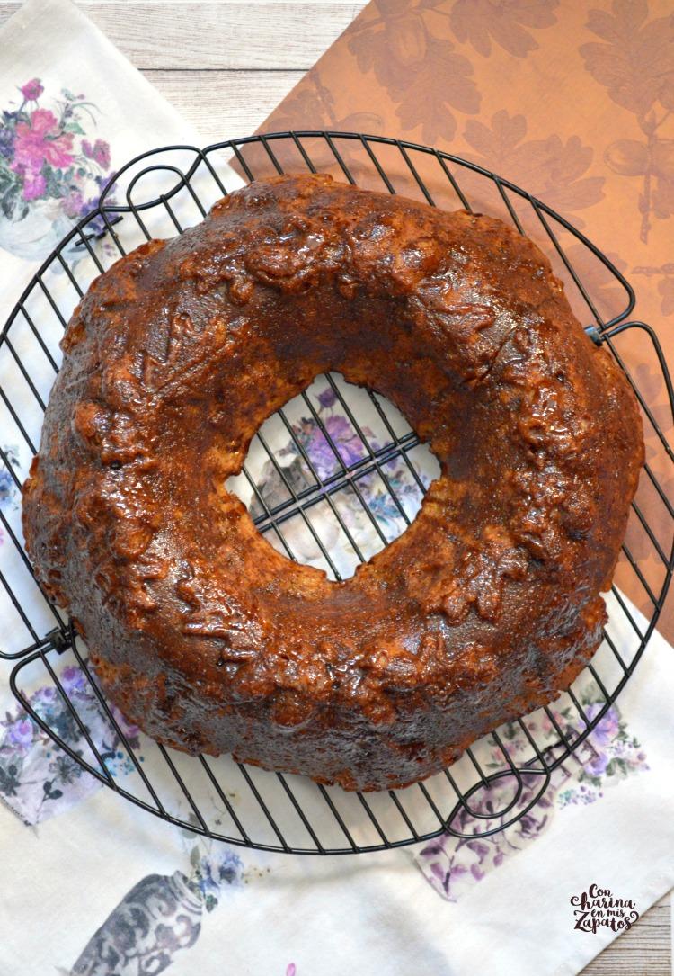 Bundt Cake de Batata Asada y Ron