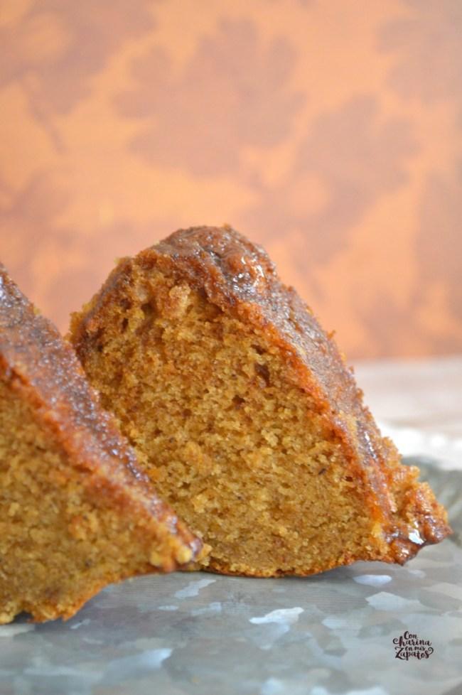 Bundt Cake de Batata Asada y Ron | CON HARINA EN MIS ZAPATOS