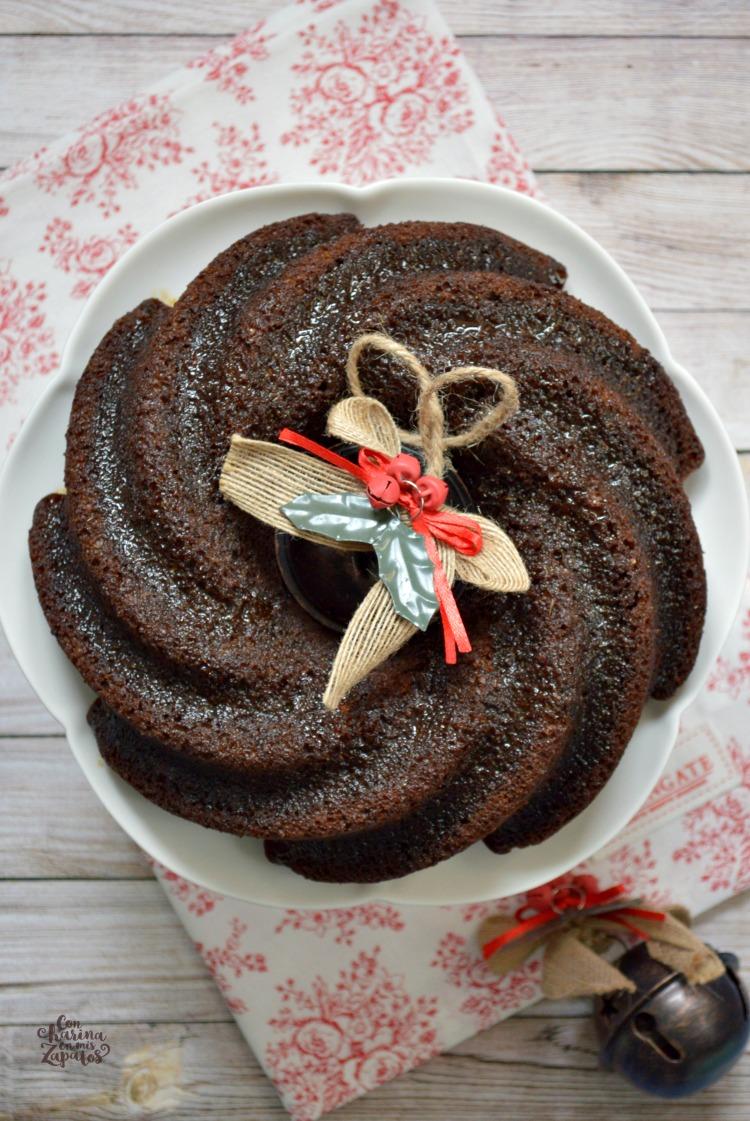 Bundt Cake de Sidra y Especias | CON HARINA EN MIS ZAPATOS