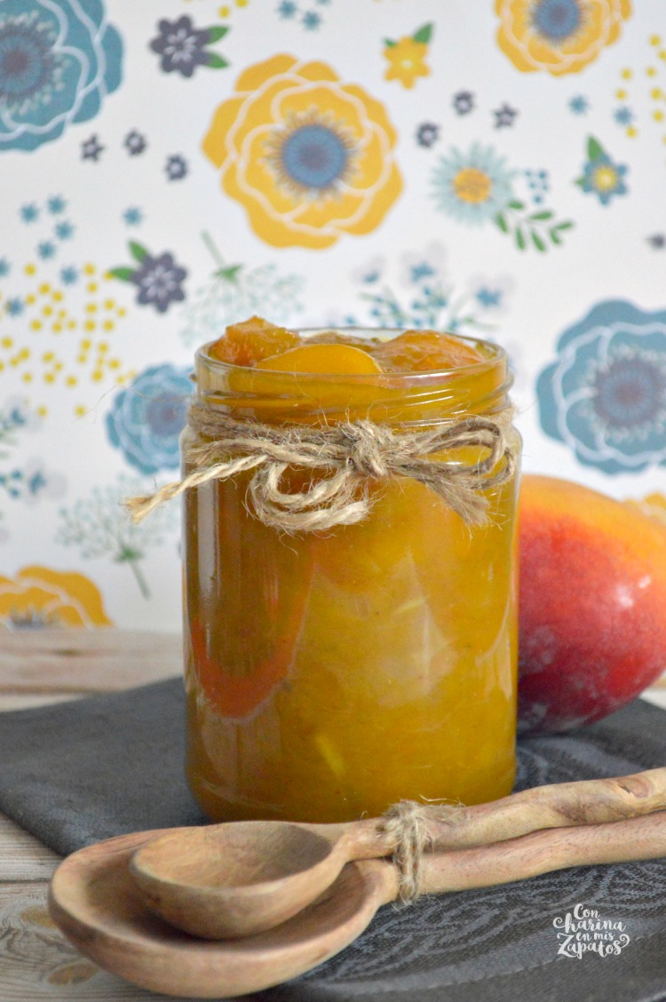 Chutney de Mango | CON HARINA EN MIS ZAPATOS