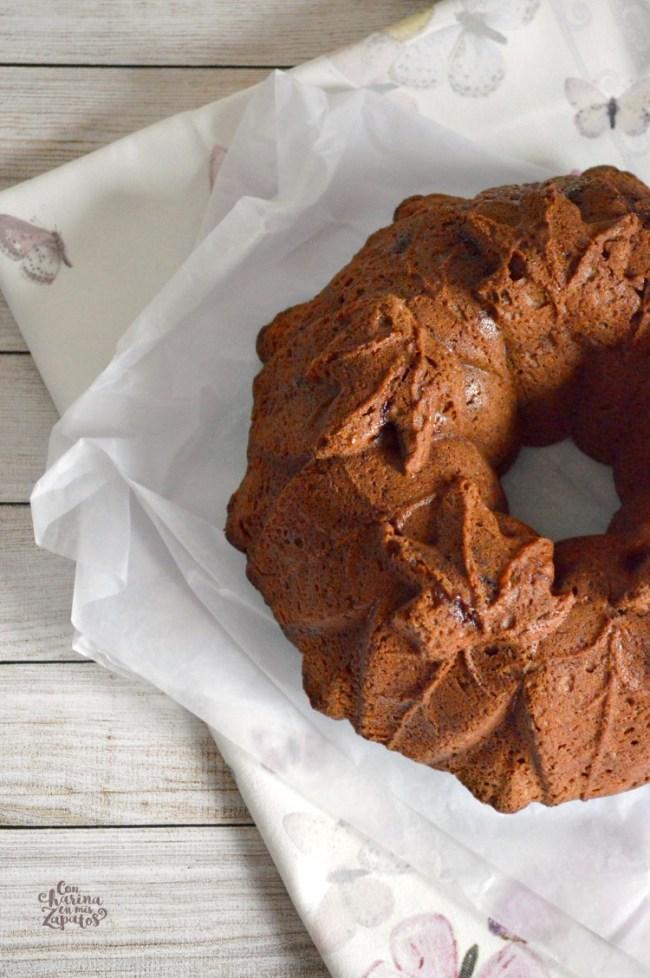 Bundt Cake de Harina de Castañas