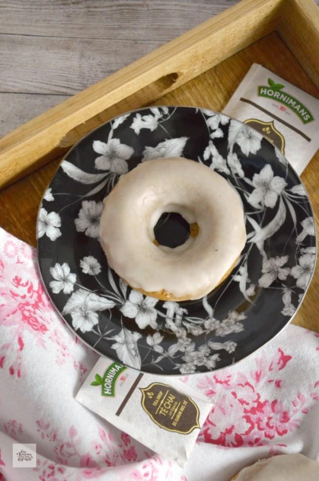 Donuts al horno con Té Chai | CON HARINA EN MIS ZAPATOS