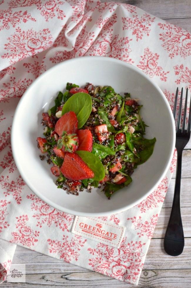 Ensalada de Quinoa Negra y Ensaladas | CON HARINA EN MIS ZAPATOS