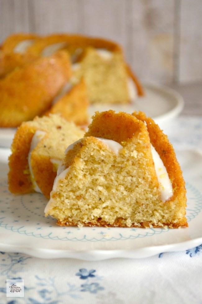 Bundt Cake de Limón y Cardamomo | CON HARINA EN MIS ZAPATOS