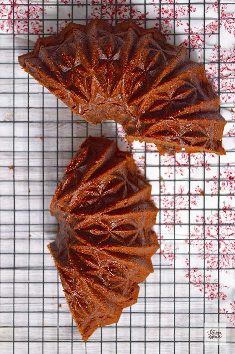 Bundt Cake de Vino Tinto y Mermelada | CON HARINA EN MIS ZAPATOS