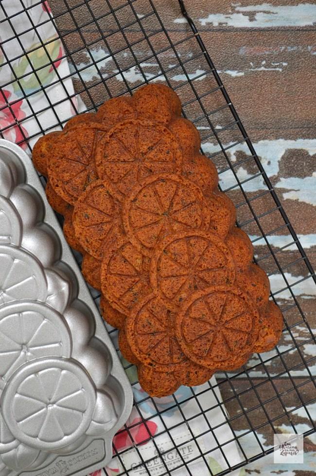 Bundt Cake de Té con Lima y Miel | CON HARINA EN MIS ZAPATOS