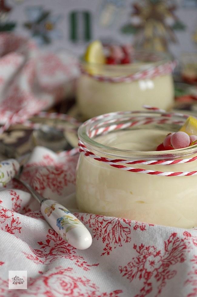 Crema de Limón   CON HARINA EN MIS ZAPATOS