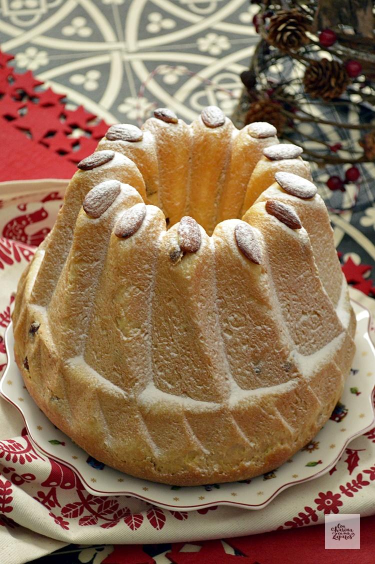 Kugelhopf. El Pan navideño alemán.