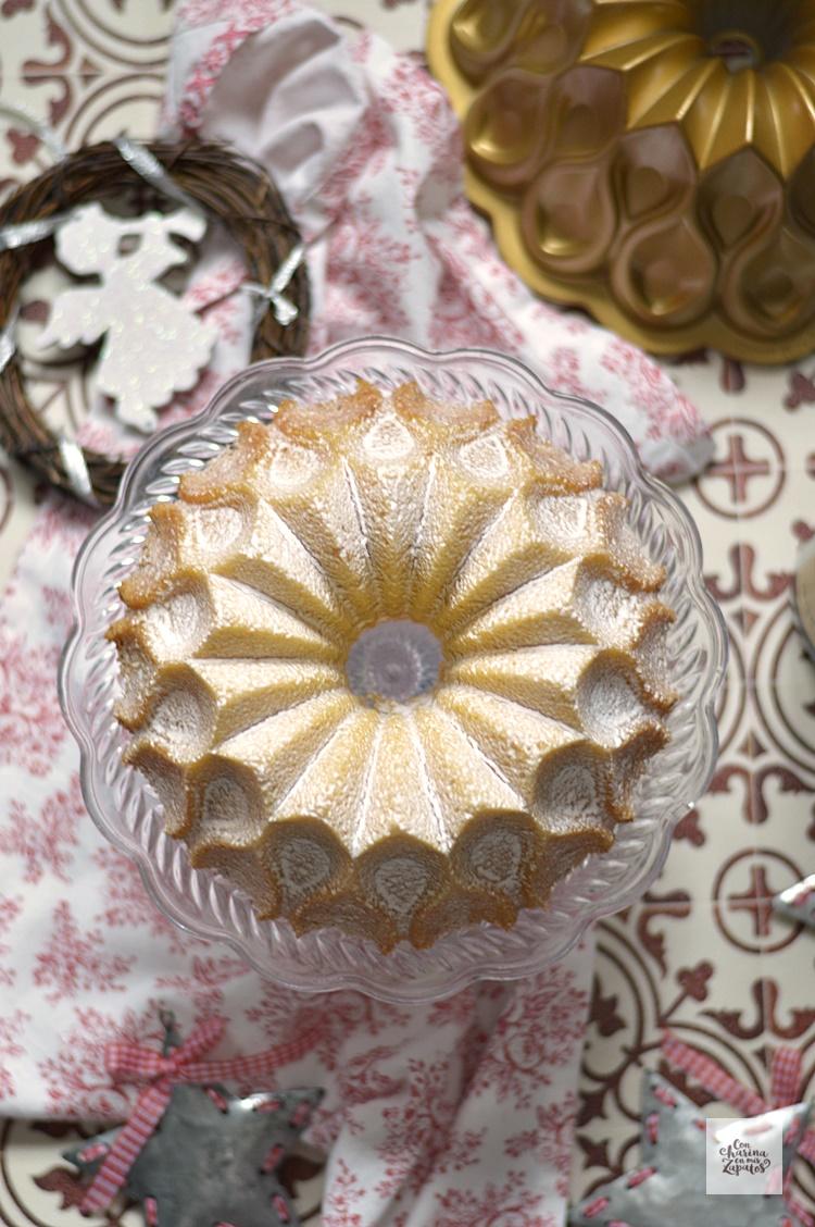Bundt Cake de Champán y Mandarina