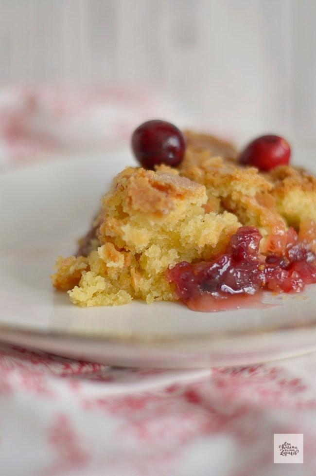 Pastel de Arándanos Rojos (Nantucket Cake) | CON HARINA EN MIS ZAPATOS