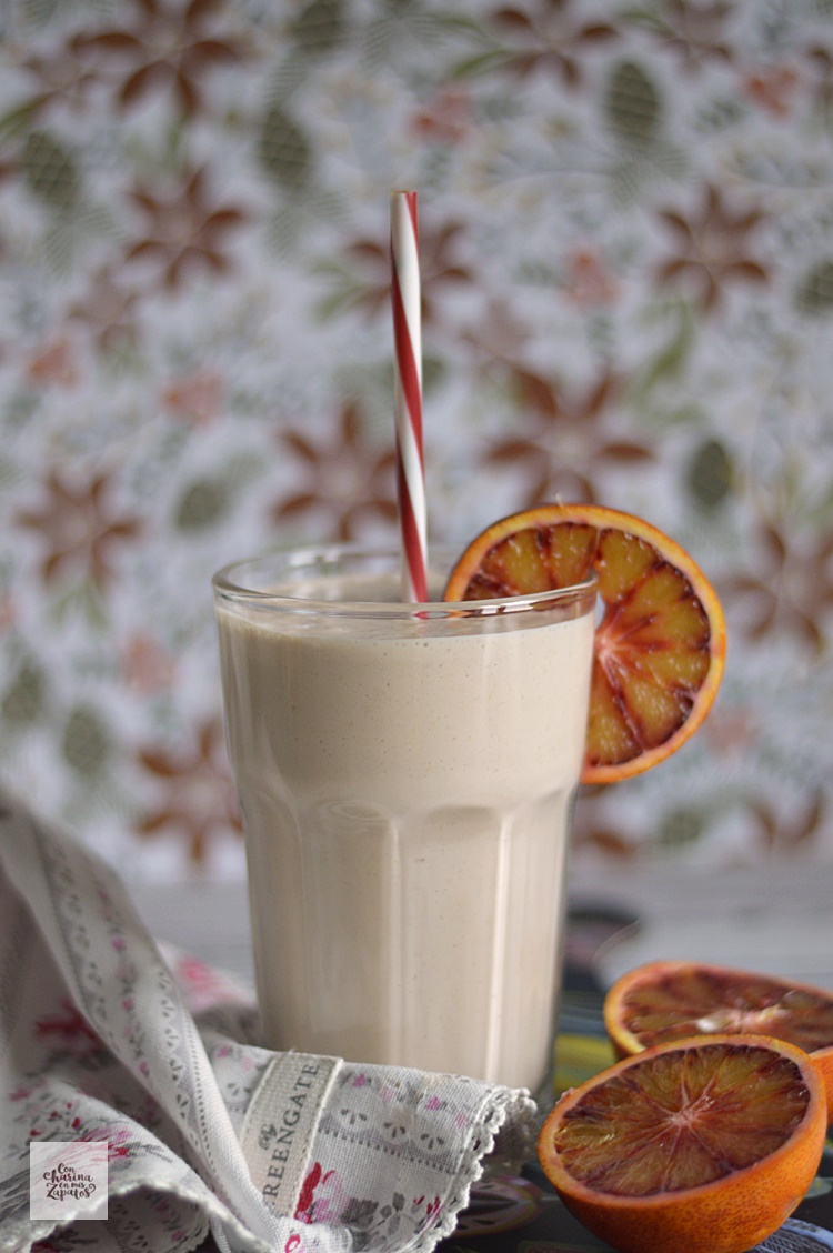 Lassi de Naranja Sanguina | CON HARINA EN MIS ZAPATOS