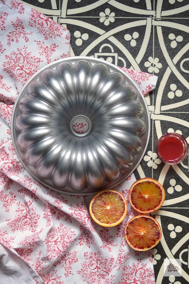 Bundt Cake de Aceite de Oliva y Naranja Sanguina | CON HARINA EN MIS ZAPATOS