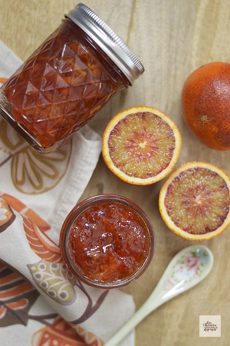 Mermelada de Naranja Sanguina | CON HARINA EN MIS ZAPATOS