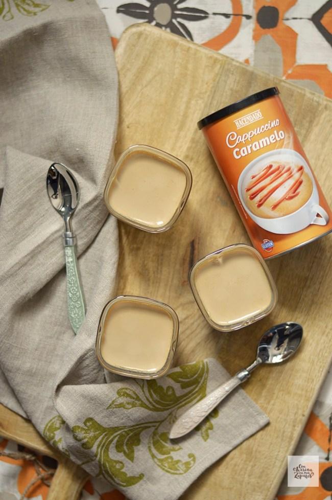 Yogur de Cappuccino | CON HARINA EN MIS ZAPATOS