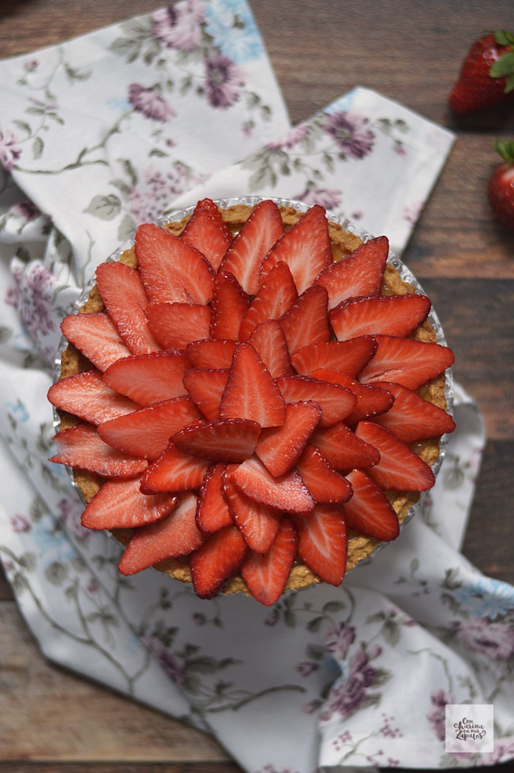 Tarta de Fresas y Lemon Curd