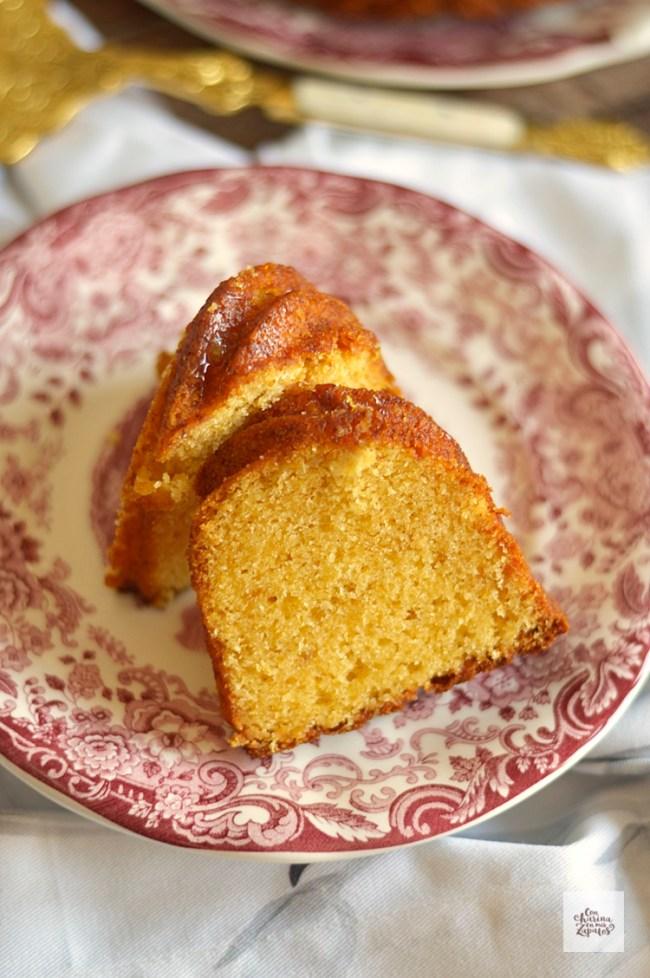 Bundt Cake de Naranja y Azahar | CON HARINA EN MIS ZAPATOS