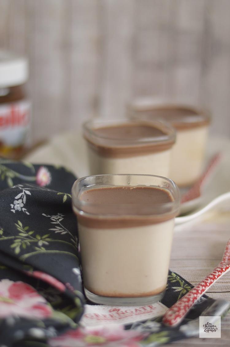 Cómo hacer Yogures de Nutella