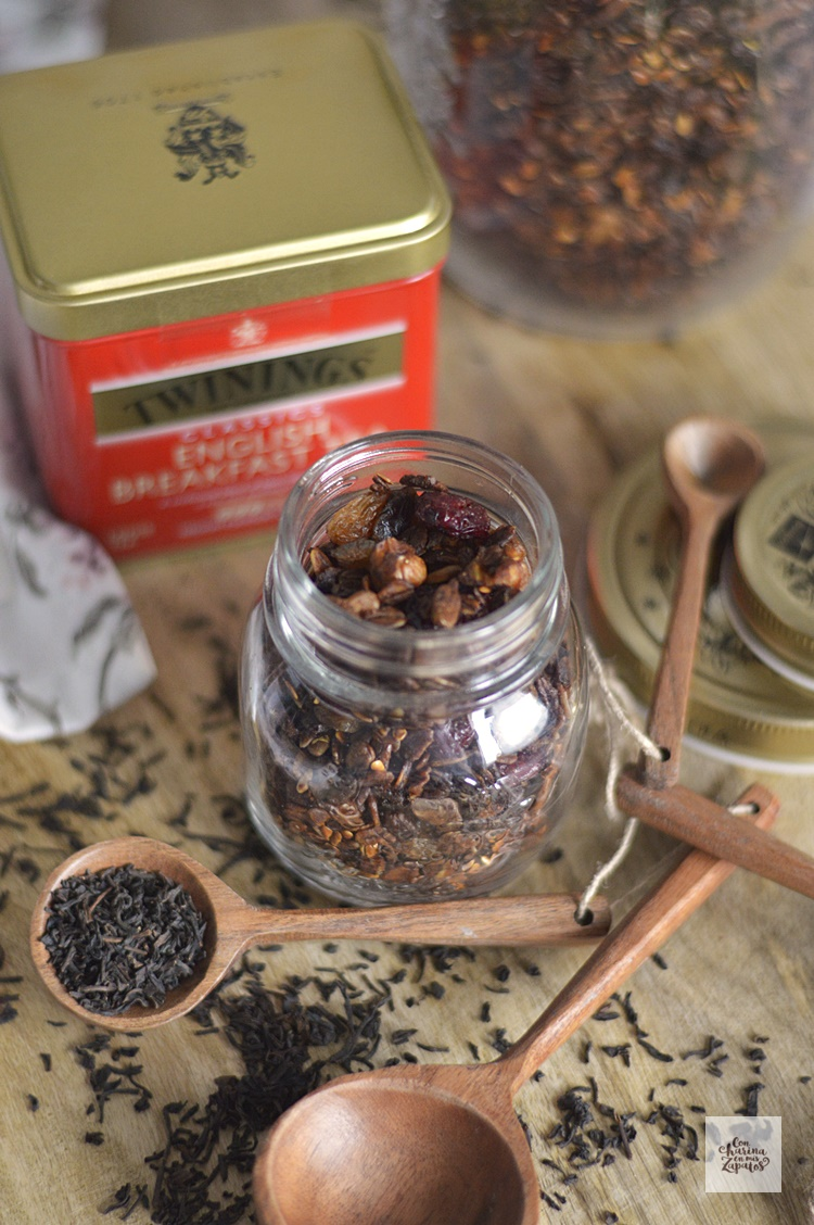 English Breakfast Granola | CON HARINA EN MIS ZAPATOS