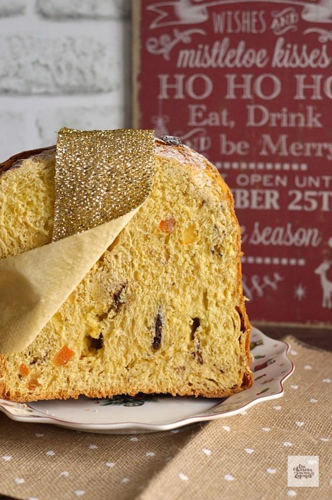 Panettone de Chocolate y Naranja | CON HARINA EN MIS ZAPATOS